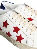 Saint Laurent Court California Sneakers - MULTICOLOR