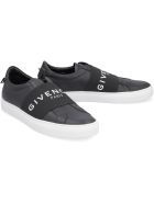 Givenchy Urban Street Leather Slip-on Sneakers - black