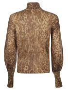 Zimmermann Turtleneck Sweater - Animal
