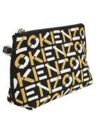 Kenzo Gusset Clutch - Multicolore