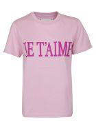 Alberta Ferretti T-shirts JE TAIME T-SHIRT