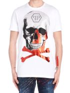 Philipp Plein 'skull' T-shirt - White