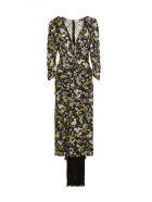 Magda Butrym Dress - Nero multicolor