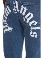 Palm Angels Jeans In Cyan Denim - cyan