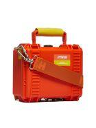 HERON PRESTON Logo Tool Bag - Arancio giallo
