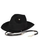 Ruslan Baginskiy Hat Piercing Fedora - Black