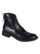 Del Carlo Classic Lace-up Shoes - Black