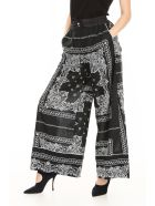 Sacai Bandana Print Trousers - BLACK|Bianco