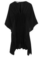 Stella McCartney Stella Mccartney Draped Mini Dress - BLACK