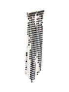Paco Rabanne Mesh Pixel Tie Earring - SILVER (Silver)