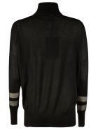 Lorena Antoniazzi Half Star Print Sweater - Black