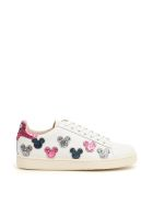 M.O.A. master of arts Leather And Glitter Disney Sneakers - Basic
