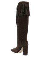 Paris Texas Wester Boots - Dark brown