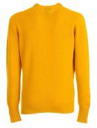 Drumohr Sweater Crew Neck Geelong - Senape