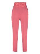 Elisabetta Franchi Celyn B. High-waist Crêpe Trousers - Pink