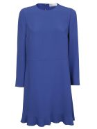 RED Valentino Valentino Red Peplum Hem Shift Dress - Bluette