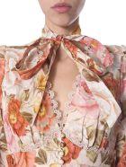 Zimmermann Long Dress - BEIGE
