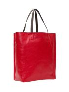 Marni Museo Soft Shopping Bag - Rosso