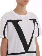 Valentino T-shirt - Bianco/nero