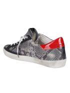 Golden Goose Grey Leather Super-star Sneakers - Grey