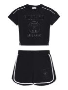 Moschino T-shirt And Shorts Set - black