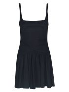 Giovanni Bedin Short Back Zipped Dress - Black