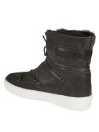 Moon Boot Logo Patch Boots - Fumo