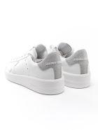 Golden Goose Sneaker Pure Star - White/silver/glitter
