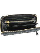 Miu Miu Matelasse' Wallet - Black
