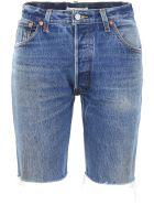 RE/DONE Long Shorts - INDIGO (Blue)