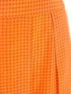 Joseph Skirt Pleated Micro Fantasy - Carrot