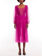Molly Goddard Bronwyn Dress - Magenta