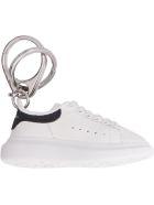 Alexander McQueen Oversized Sneaker Keyring - White