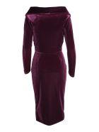 La Petit Robe Di Chiara Boni Le Petite Robe By Chiara Boni 'sarabi' Polyester Dress - Amethyst