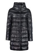 Herno Dora Down Jacket With Snaps - blue