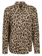 MSGM Leopard Print Shirt - Multicolor