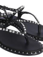 Ash Peps Flip Flops - NERO