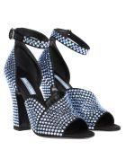 Prada Embellished Sandal - SKY