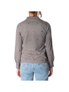 Sun 68 Sun68 Cotton Blend Polo Shirt - MEDIUM GREY
