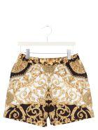 Young Versace 'barocco' Swimshorts - Multicolor
