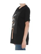MM6 Maison Margiela Logo T-shirt - Black