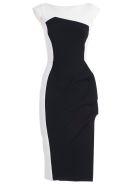 La Petit Robe Di Chiara Boni Citra Dress - Bianco Nero