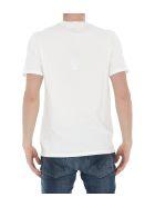 C.P. Company Embroidered T-shirt - Gauze white