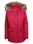 Woolrich Parka Arctic 3 In 1 - Berry Red