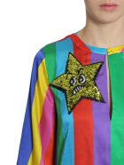 Mira Mikati Silk Blend Rainbow Dress - MULTICOLOR