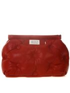 Maison Margiela Medium Glam Slam Red Quilted Leather Bag - Red