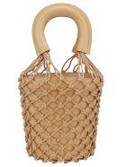 STAUD Moreau Handbag - Nude/natural