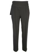 SportMax Pleated Trousers - Nero