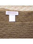 Coccinelle Sand Lurex Scarf - Sand