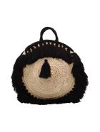 Gianluca Capannolo Straw Bag - Black
